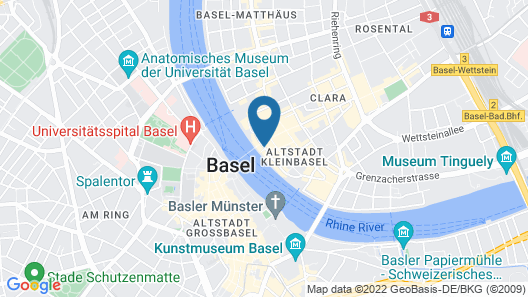 Sorell Hotel Merian Map