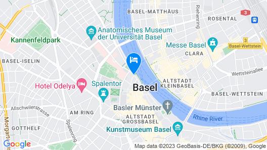 Hotel D Basel Map