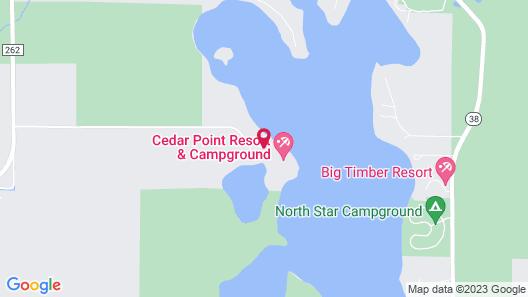Cedar Point Resort Map