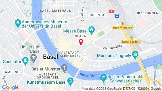 Aparthotel Adagio Basel City Map