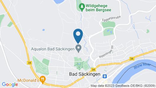 Hotel Schweizerblick Map