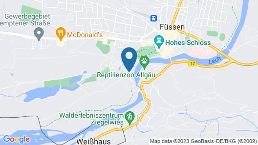 Aktiv Hotel Schweiger Map