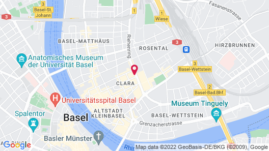 Residence Apartments by Hotel du Commerce Map