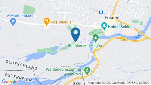 Parkhotel Bad Faulenbach Map