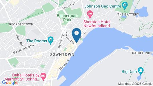 Alt Hotel St. John's Map