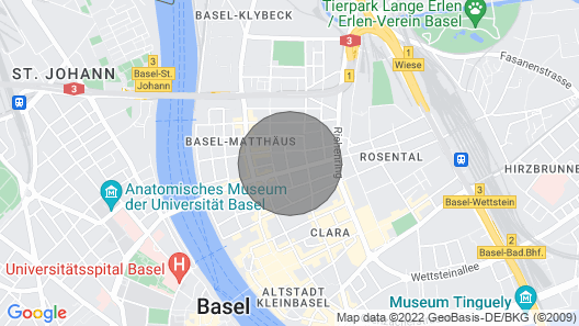 Charming Duplex in a Beautiful old Building 5 Minutes Walk From Messeplatz Map