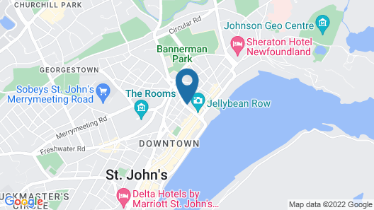 The Narrows Bed & Breakfast Map