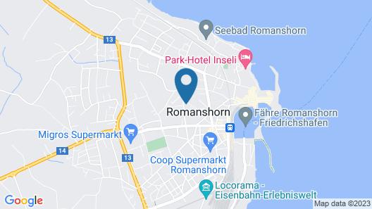Jugendherberge Romanshorn Map