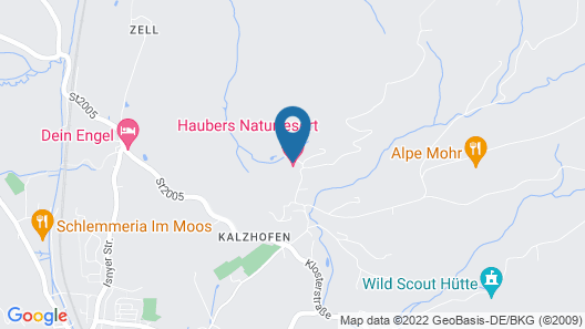 Haubers Alpenresort Map