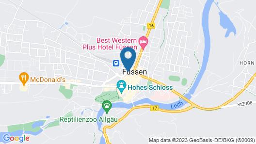 Luitpoldpark-Hotel Map