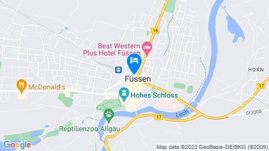 Hotel Schlosskrone Map
