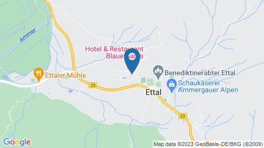Gasthof Blaue Gams Map