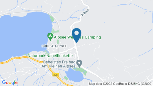 Rothenfels Hotel & Panorama Restaurant  Map
