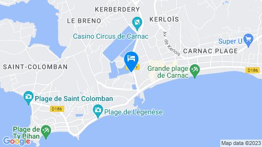 Hôtel & Spa Les Salines Carnac by Thalazur Map