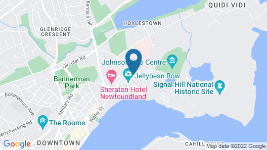 Hometel On Signal Hill Map