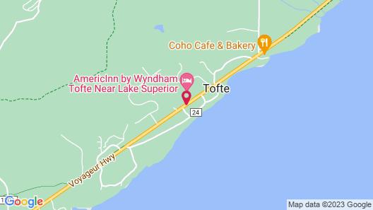 AmericInn by Wyndham Tofte Near Lake Superior Map