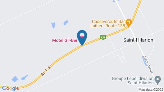 Motel Gil-Ber Map