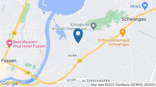 Hotel Das Rübezahl Map