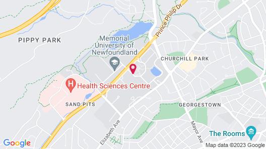 Memorial University Map