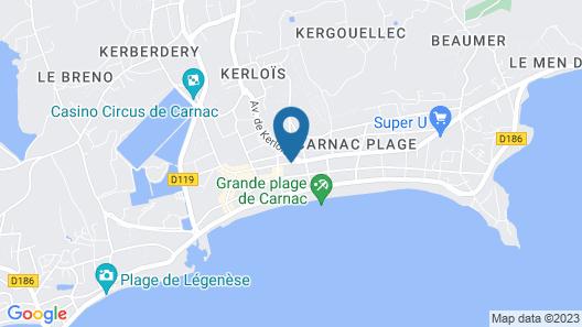 Le Celtique & Spa Map