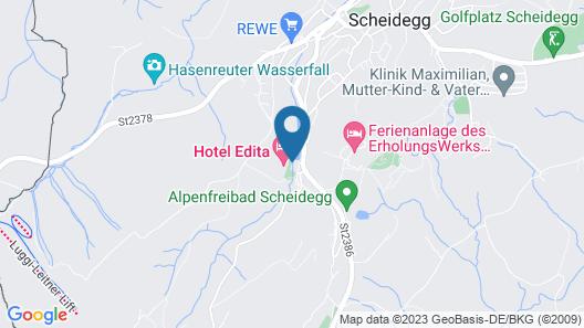 Hotel Edita Map