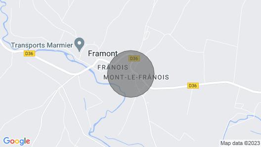 Demeure de la Tour Ronde Map