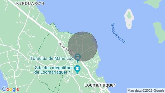 Maison au Calme à Proximité du Golfe du Morbihan Map