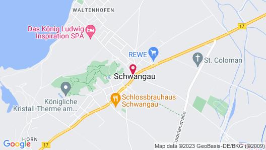 Hotel Schwanstein Map