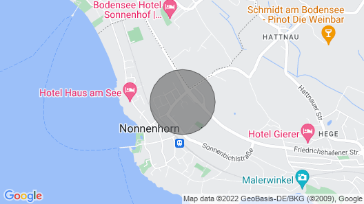 Loft Rebhalde in Nonnenhorn on Lake Constance Offers Relaxation and Comfort at the Same Time Map