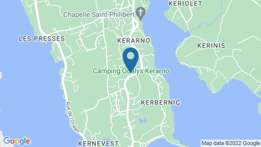 Domaine Résidentiel de Plein Air Odalys Kerarno Map