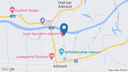 Hotel Spirodom Admont Map