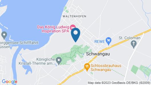 Das König Ludwig Wellness & Spa Resort Allgäu Map