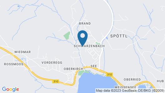 Feriendorf Weissensee Map