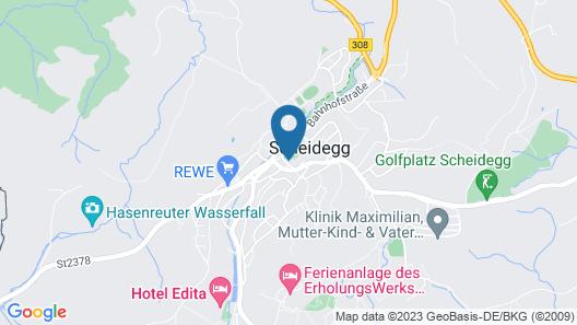 Zum Hirschen -  hotel & gasthaus beim stöckeler Map