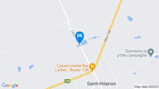 Domaine De La Coulée Map