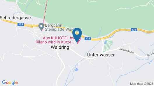 KUHOTEL by Rilano Map