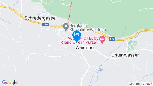 Waidringer Hof - 1. Tiroler Glückshotel Map