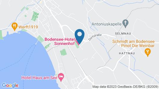 Bodensee Hotel Sonnenhof Map