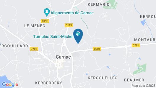 Hotel Du Tumulus Map