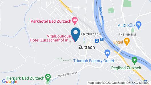 VitalBoutique Hotel Zurzacherhof Map