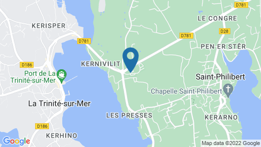 Camping Les Palmiers Map