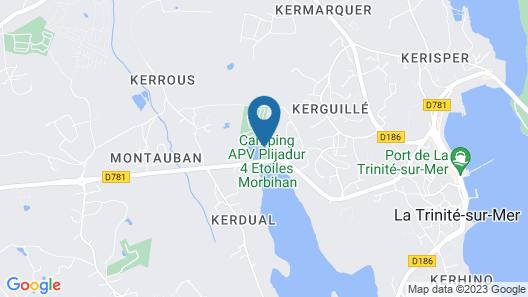 Ze-Camping - Camping Plijadur Map