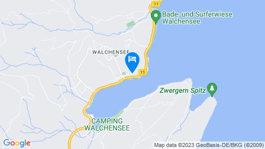 Ferienwohnung Royal Walchensee Map