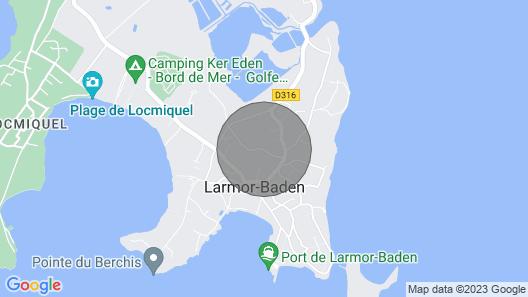 La Maison de Bernard Map