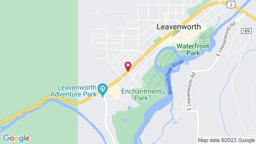 Howard Johnson by Wyndham Leavenworth Map