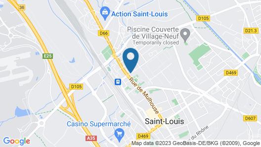 Hôtel Berlioz Map