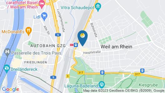 Ott's Leopoldshoehe Map