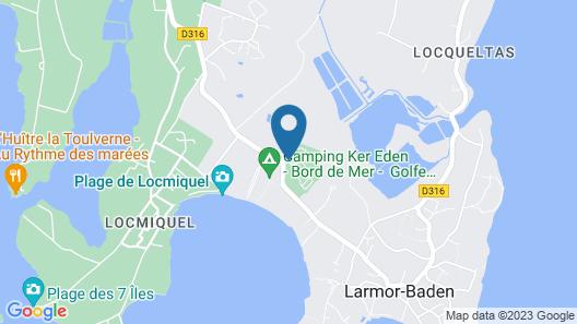 Camping Le Diben Map
