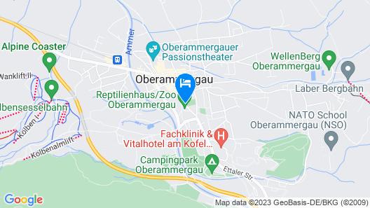 AKZENT Hotel Turmwirt Map