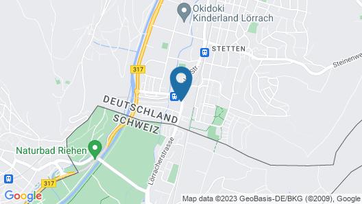 Hotel JFM Map